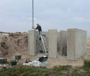 Casco betonwanden